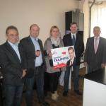 Jarosław Krajewski kandydat do Parlamentu Europejskiego odwiedził Legionowo – lista nr 4, miejsce nr 3