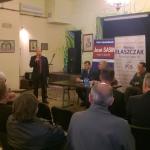 Spotkanie kandydatów do parlamentu w Jabłonnie