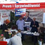 Prawo i Sprawiedliwość na Dniu Ziemniaka w Stanisławowie Pierwszym