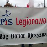 Legionowski PiS na obchodach 6. rocznicy Tragedii Smoleńskiej