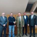 Spotkanie z ministrem Janem Szyszko w Nadleśnictwie Jabłonna