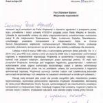 Minister Mariusz Błaszczak interweniuje w sprawie planowanej budowy kompostowni w Dębem