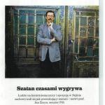 """""""Szatan czasami wygrywa"""" – wywiad z prof. Janem Żarynem"""