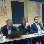 Spotkanie w gm. Serock z przedstawicielami ministra SWiA