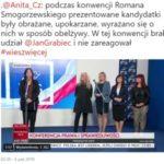 Konferencja poseł Anity Czerwińskiej z kandydatkami PiS do samorządu legionowskiego ws. wystąpień R. Smogorzewskiego